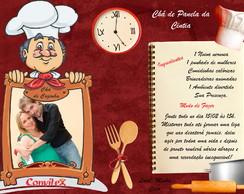 Convite Ch� de Cozinha