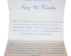 Convite Casamento Esmeralda FRETE GR�TIS