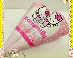 Cone Personalizado Hello Kitty