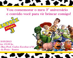 CONVITE DO TOY STORY