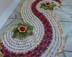 Tapete Espiral em Croch�