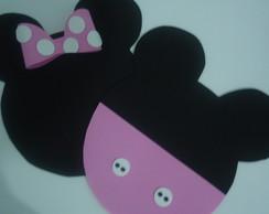 "Jogo americano Minnie/Mickey ""Baby"""