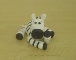 Zebra deitada