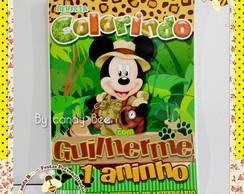 Revista Personalizada Mickey Safari