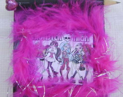 Bloquinho Monster high