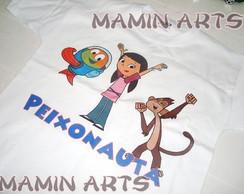 Camiseta Infantil Peixonauta