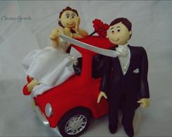 casal com fusca