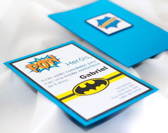 Convite de Anivers�rio Infantil Batman