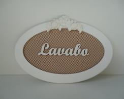 Placa Lavabo