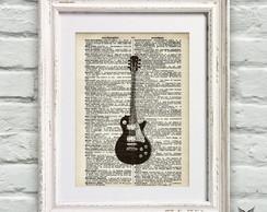 Poster P�gina De Dicion�rio Guitarra
