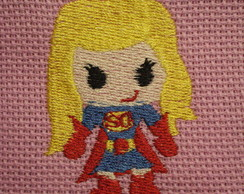 Toalha Escolar - Super Girl