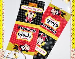 Capa Pirulito Minnie