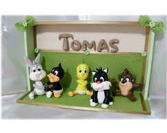 QUADRO DECORATIVO BABY LOONEY TUNES