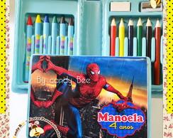 Estojo Personalizado Homem Aranha