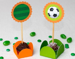 Toppers para Doces Futebol