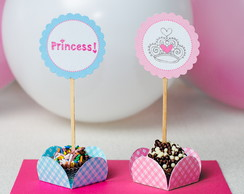 Toppers para Doces Princesa