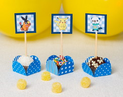 Toppers para Doces Pokemon