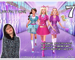 �m� da barbie school escola de princesas