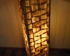 Lumin�ria de ch�o coluna