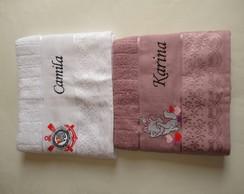 Toalha De Banho Personalizada.