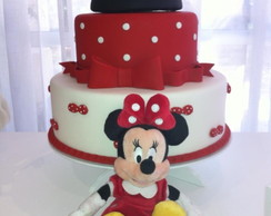 FESTA CLEAN Minnie Vermelha