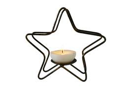 Casti�al estrela em ferro forjado