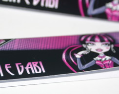 Lapela Para Saquinho Bala Monster High