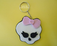 CHAVEIRO CAVEIRA MONSTER HIGH SKULLETTE
