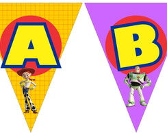 Varal De Letras Toy Story