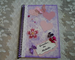 Caderno de Recorda��es -scrapbook