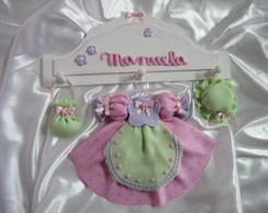 Enfeite De Maternidade - Kit Vestidinho