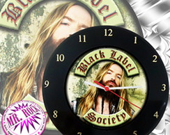 Rel�gio Vinil Black Label Society II