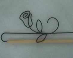 113a - flor rosa (15cm)