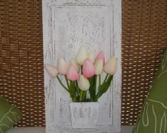 Quadrinho Proven�al com Flores!!!