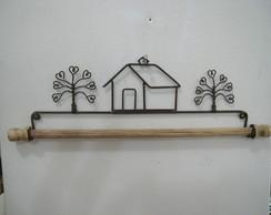 118d - casinha com �rvores (30cm)