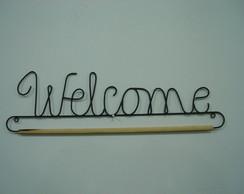 128d - welcome letra cursiva (30cm)