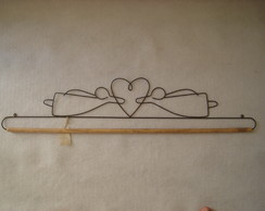 148d - anjinhos com cora��o (30cm)