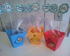 Centro de mesa cachep� Angry Birds