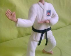 Boneco karateca personalizado
