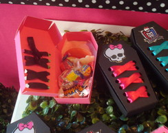 Caixao para guloseimas Monster High