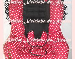 Capa Minnie para cadeira de crian�a