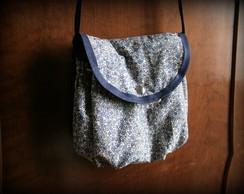 Bolsa Floral Azul