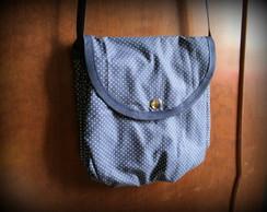 Bolsa Azul Marinho com Po�s