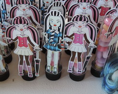 Tubo Pet Decorado Monster High