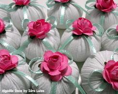 Petit Sachet - branco/verde/rosa