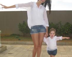 Camisa Casuale Branca