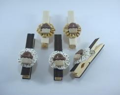 Prendedor pacotes cupcake