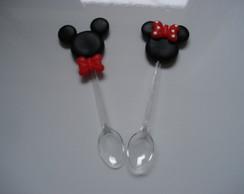 Mini colher ratinho e ratinha