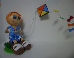 boneco com pipa