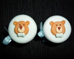 Lembrancinha - Mini Pote de Vidro Urso